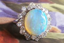 Opal Finds / One of a kind estate, vintage & antique opal jewelry from Jewelry Finds®!!!