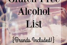 Alkohol liste gluten free