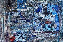 site de Patricia  Rivière /  mon travail se conjugue entre la réalisation de sculptures, de bas reliefs et de peinture. Je mixte avec ardeur ces différentes techniques pour rendre une œuvre profondément métissée