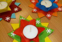 Tvoření s dětmi Vánoce