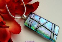(*)FUSED GLASS PCS.
