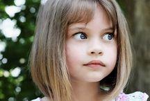 Kız çocuk saç