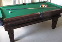 Our Colour 1 - Luxury Pool Tables / A selection of our Pool Tables in various styles and wood types, all finished in Wood Colour 1