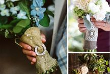 Bouquet Wraps & Accessories / Bouquet wraps and accessories are a great way to incorporate your wedding colors, your theme or a special memento!