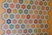 Grammas flower garden quilts