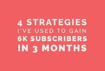 Email Marketing + List Growth / Email marketing tips, content marketing strategies, designing opt-ins and content upgrades for list growth, getting more subscribers, and creating newsletters.