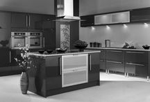 Black and White Kitchen Ideas / Ways to Achieve the Perfect Black and White Kitchen ==================================================================== If you would like TO JOIN:  1) Follow my account.   2) Send me a message.  No Price Tags, No Spam, No Recipes.