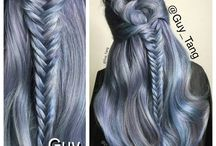 Silver Hair Color / Different variations of Silver with different colors and cut