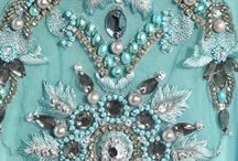 Inspirations  HOT couture  / details  / adornment -  sztuka zdobienia / tkanina, moda / detal