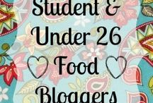 Student & Under 26 Food Bloggers / A Board for Student and Under 26 Food Bloggers to Pin Recipes from Their Blogs. Want an Invite? Send a Request to messmakesfood@live.com / by Mess Makes Food