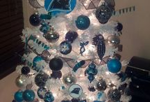 Carolina Panthers Christmas / Carolina Panthers Christmas / Happy Holidays - Pictures, Ideas, & Fun Products / Merchandise