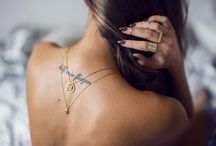 Neck with text tatto