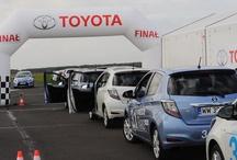 """Finał konkursu """"Wygraj nową hybrydową Toyotę Yaris""""! / W sobotę na torze Akademii Jazdy Toyota najbardziej ekonomicznym kierowcą okazał się Adam Rymarczuk, uzyskując zużycie paliwa na poziomie 0.9 l/100 km, w czasie 13 min 15 sek! Gratulujemy! http://www.poznajhybrydy.pl/final"""