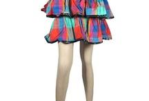 Boho Chic Mini Skirt