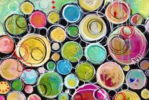 ArtEd- Circle paintings