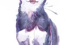 chihuahua watercolor