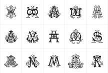 Illo: Monograms