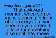 Awkward Moment When