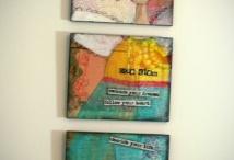 mixed-media art ideas / Ideas to inspire mixed-media projects.