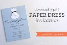 Bridal invitations