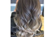 Hair designs and color