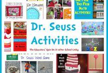 Book- Dr. Seuss stuff / by Kimberly Tharp