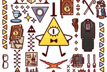 Gravity Falls (everything other than billdip)