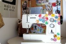 Sewing Machine Madness / by Emily Beach