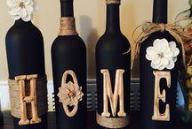 bottles decor