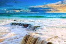 Oceány-moře-pláže