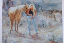 Margo Petterson / Margo Petterson artwork / by The Apple Barrel