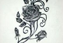 rose tatuate