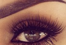 make up and eyebrows