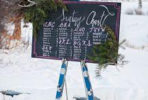 Winter Ski Chalet Wedding Inspiration