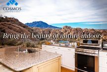 Inspired by Nature / Cosmos natural stone brings the beauty of nature into your home!