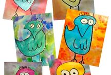 Fundraiser Ideas / Colorful art projects that would work well for fundraisers