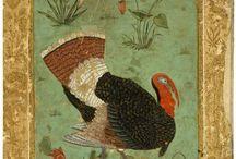 Mughal Turkish Miniature Paintings