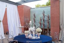 Blue Wedding / Blue wedding ceremony and reception ideas and details from real Clayton on the Park weddings. Modern Scottsdale wedding venue in the heart of Downtown Scottsdale. #wedding #color #blue #details #ideas #planning #decor #modern