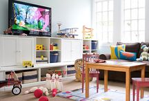 Playroom/Family Room / by Shannon Rooks