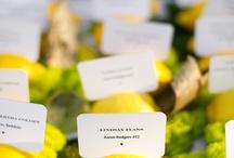 Yellows / yellow wedding ideas and inspiration