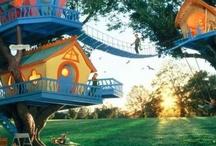 Kids dream treehouse / by Emily Householder
