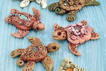 More polymer clay / by Kathy Weaver