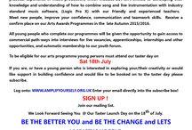 Taster Launch Programmes @ Islington / Free Taster Music  Programmes. Age 8- 21 yrs.
