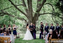 farm weddings / Barn Venue But Outdoor Wedding Ceremonies