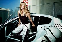 "Maserati in 50th Anniversary Sports Illustrated Swimsuit Issue / Maserati debuts the all-new Ghibli and the new car line-up in the 50th anniversary Sports Illustrated Swimsuit issue with a 7-page pictorial feature titled ""Beyond the Swimsuit"" with Heidi Klum."