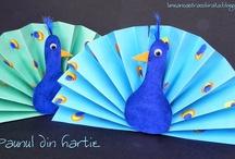 Barn(SFO) / Påfugl i papir