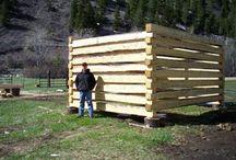 Tømmerhytter