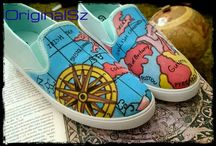 paint of shoes