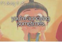 It's okay if