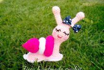 Crochet snail free pattern